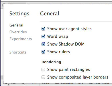"Enable ""Show Shadow DOM"" in the Devtools"